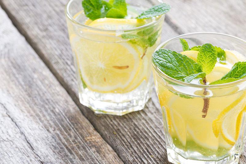 Лимонный (лимон, апельсин, мята)